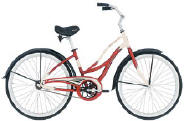 Women's Raleigh Cruiser Bike